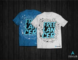 Novusmultimedia tarafından Create a t-shirt design that best embodies Freelancer's hip and fun nature için no 176