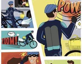 Nro 33 kilpailuun Comic book strips and design - Fun project for the creative one! käyttäjältä rhythmandart