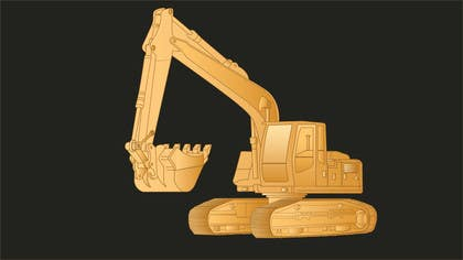 #12 cho 3D illustration of a construction machine bởi graphicdesign001