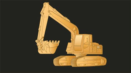 #13 cho 3D illustration of a construction machine bởi graphicdesign001