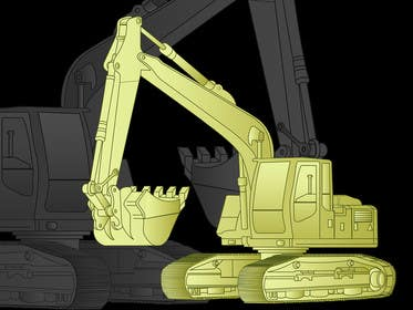 #15 cho 3D illustration of a construction machine bởi graphicdesign001