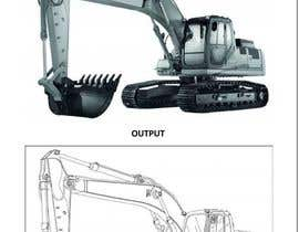 #20 untuk 3D illustration of a construction machine oleh ravi1395