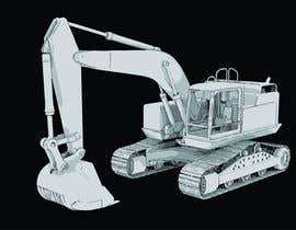 #29 for 3D illustration of a construction machine af rmissin