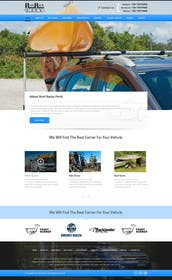 #8 cho Design a Website Mockup for Roof Rack Co bởi kreativeminds