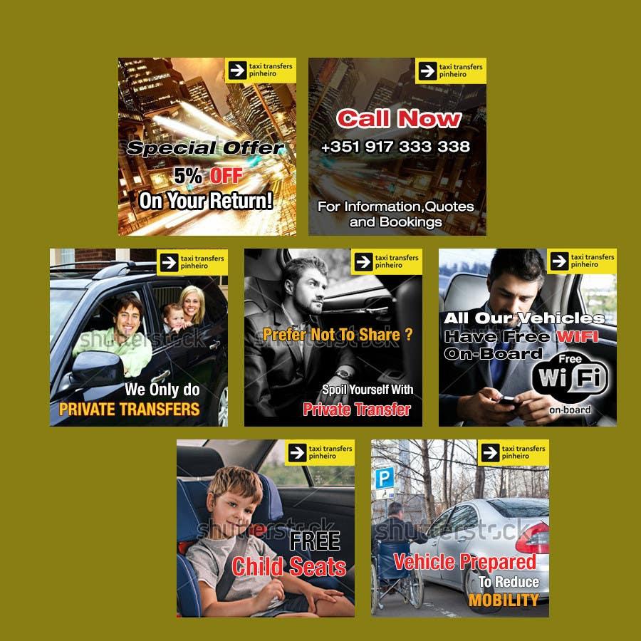 Konkurrenceindlæg #                                        64                                      for                                         Design a Banner for  Taxi Pinheiro