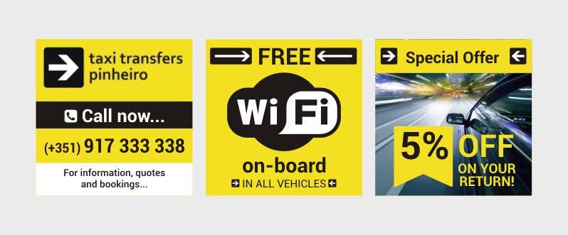 Konkurrenceindlæg #                                        2                                      for                                         Design a Banner for  Taxi Pinheiro