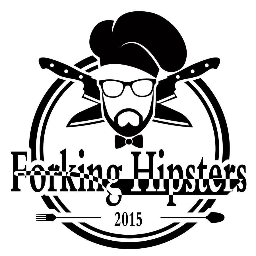 Proposition n°                                        27                                      du concours                                         Design a Logo for FOOD TV SHOW with hipster theme.