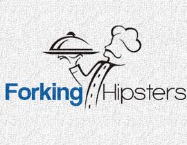 #31 untuk Design a Logo for FOOD TV SHOW with hipster theme. oleh redvfx
