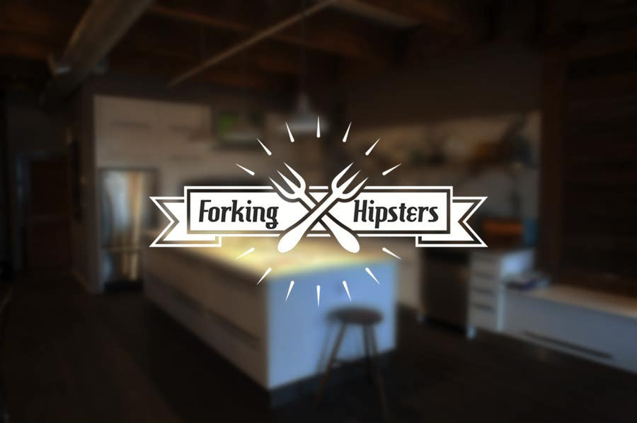 Proposition n°                                        23                                      du concours                                         Design a Logo for FOOD TV SHOW with hipster theme.