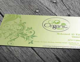 #53 for Design some Business Cards for Go Organic Store by muhammadmahmud