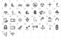 Proposition n° 6 du concours Graphic Design pour Pictograms for a Boat Booking Website