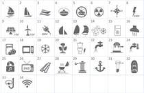 Proposition n° 8 du concours Graphic Design pour Pictograms for a Boat Booking Website