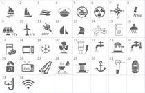 Proposition n° 12 du concours Graphic Design pour Pictograms for a Boat Booking Website