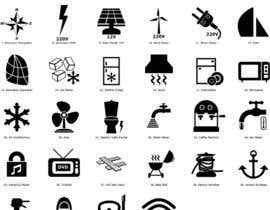 nº 7 pour Pictograms for a Boat Booking Website par MTS4