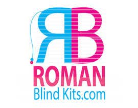 #43 cho Design a Logo for romanblindkits.co.uk bởi Prologomaker