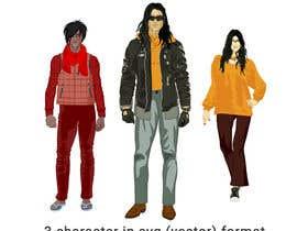 Nro 39 kilpailuun Illustrate a character (contest) käyttäjältä RayhanUddin07