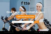 Graphic Design Konkurrenceindlæg #14 for Design a Website Mockup for Fitness Business