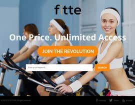 #14 para Design a Website Mockup for Fitness Business por htanhdesign