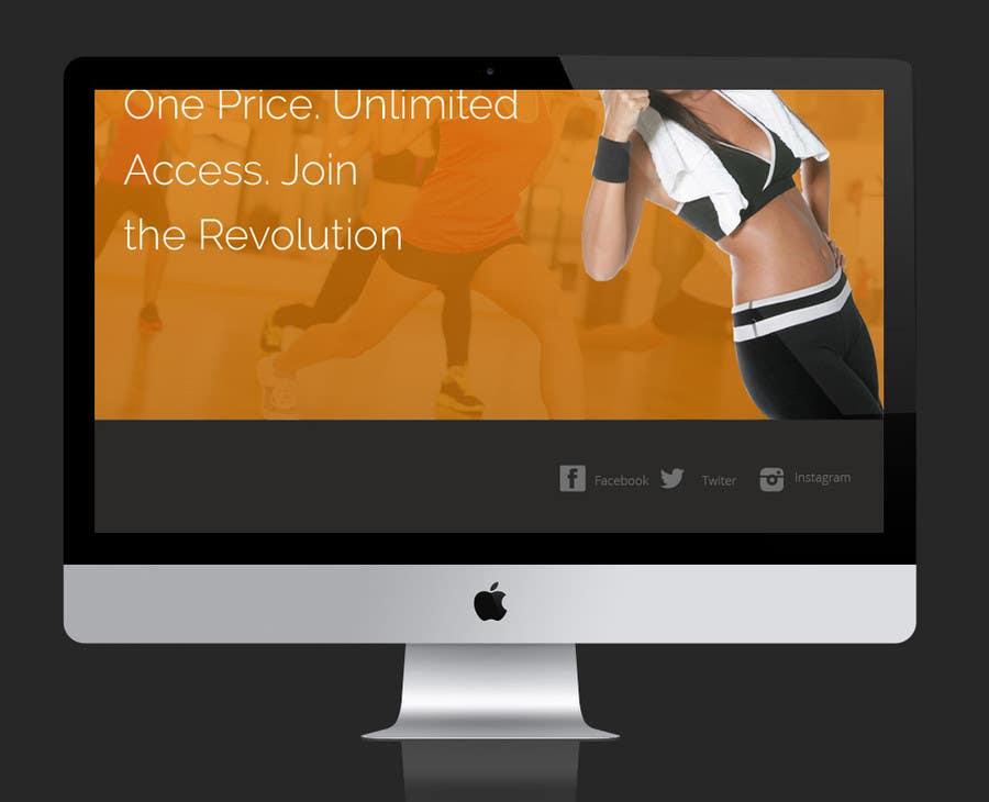 Konkurrenceindlæg #                                        4                                      for                                         Design a Website Mockup for Fitness Business