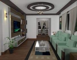 rumendas tarafından Living room interior design için no 7