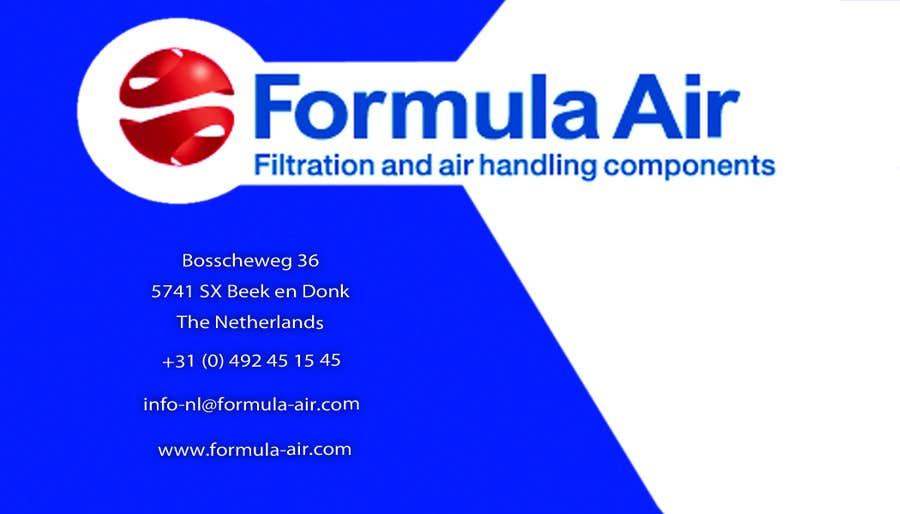 Kilpailutyö #29 kilpailussa Formula Air businesscards!