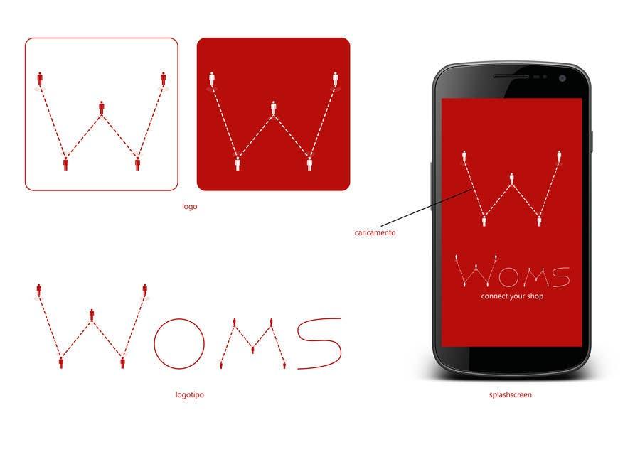 Konkurrenceindlæg #                                        8                                      for                                         Logo and SplashScreen design for APP WOMS