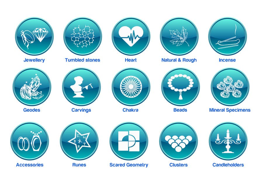Contest Entry #                                        30                                      for                                         Design some Icons for Wholesale Crystal Website