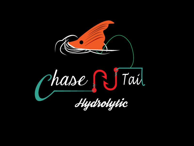 Konkurrenceindlæg #14 for Tshirt for a fishing company, Chase-N-tail