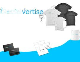 #154 para Logo Design for Socialvertise por Rflip