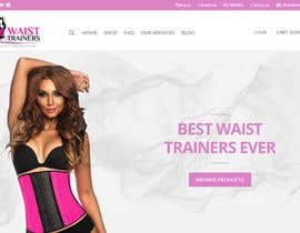 hirurgdesign tarafından Design a Banner / responsive Slider / header for my waist trainer Homepage için no 2