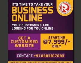 #61 for Need Banner for my Website Designing Service af ranjupay