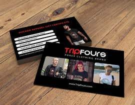 #23 para Gift Certificate/Business Card/Promo Design por DesigenerShakir