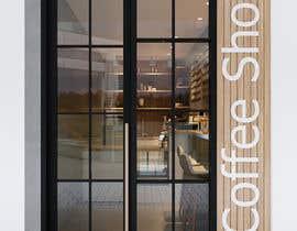 Nro 21 kilpailuun Interior and exterior Design for a coffee shop käyttäjältä ne5yalie