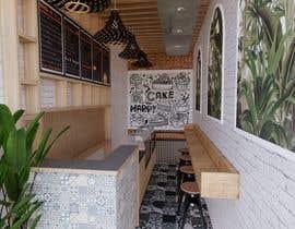 Nro 27 kilpailuun Interior and exterior Design for a coffee shop käyttäjältä jinupleasant