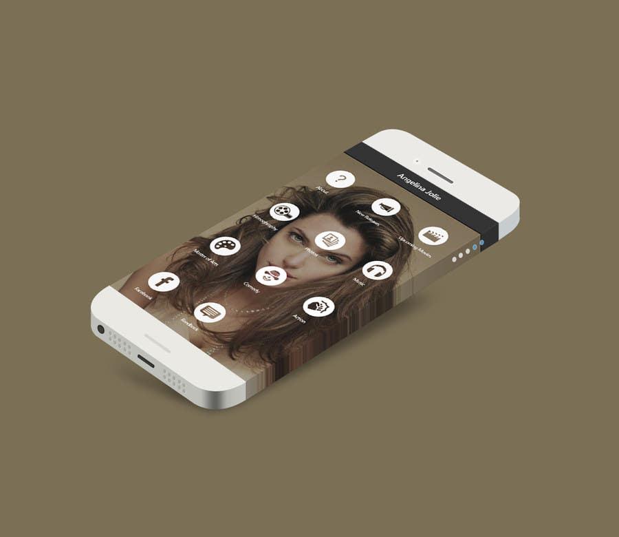 Konkurrenceindlæg #                                        32                                      for                                         Improve an App Home Screen Mockup