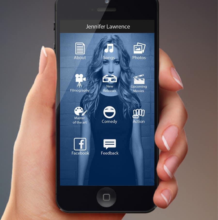 Konkurrenceindlæg #                                        16                                      for                                         Improve an App Home Screen Mockup