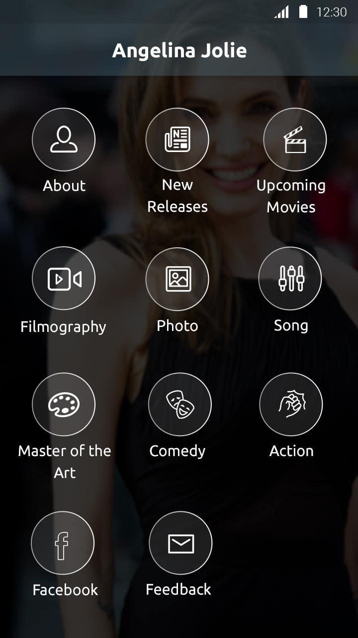 Konkurrenceindlæg #25 for Improve an App Home Screen Mockup