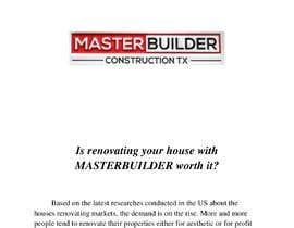 nº 10 pour Blog writing for a Construction Company par badrboch95