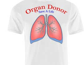 #13 for Design a T-Shirt for organ donation by jordanlamar26