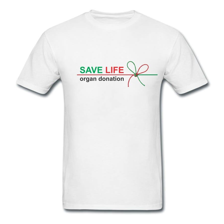 Inscrição nº 17 do Concurso para Design a T-Shirt for organ donation