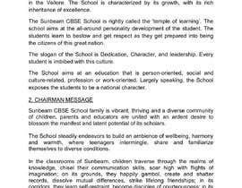 nº 28 pour Content Writing For CBSE SCHOOL website par jothady