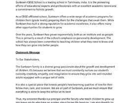 nº 31 pour Content Writing For CBSE SCHOOL website par mawicainap