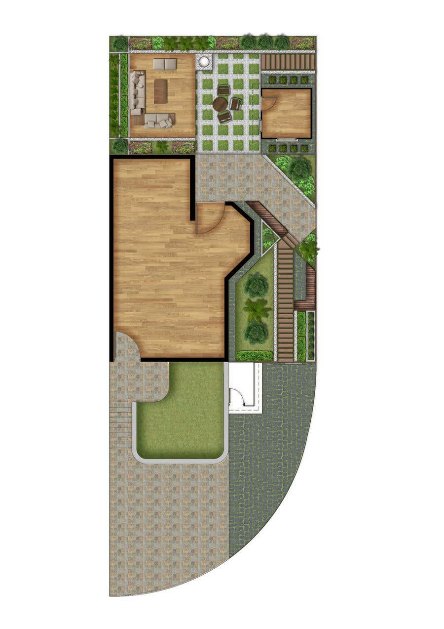 Konkurrenceindlæg #                                        15                                      for                                         Design of a small garden.
