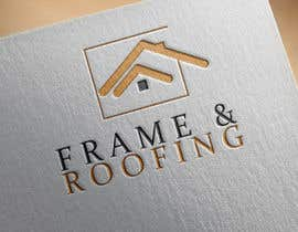 #53 for Design a Logo for Frame&Roofing by donmute