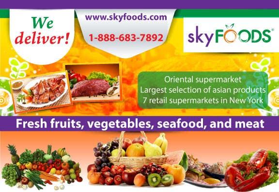 Konkurrenceindlæg #2 for Design a Flyer for asian online supermarket