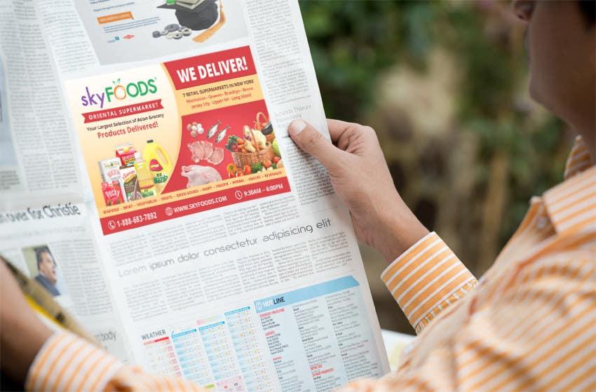 Konkurrenceindlæg #36 for Design a Flyer for asian online supermarket