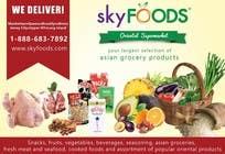 Design a Flyer for asian online supermarket için Graphic Design22 No.lu Yarışma Girdisi