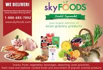 Design a Flyer for asian online supermarket için Graphic Design26 No.lu Yarışma Girdisi