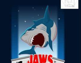 #54 untuk BAck to the future 2 JAws 19 Holographic Shark Tee Shirt Design oleh Adriangtx