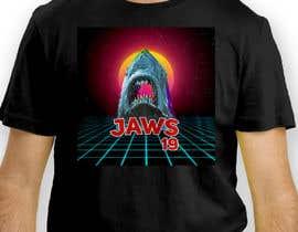 #36 untuk BAck to the future 2 JAws 19 Holographic Shark Tee Shirt Design oleh antoniustoni